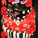 Юбилейный торт на заказ Мелитополь (1)