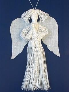 Ангел из ниток