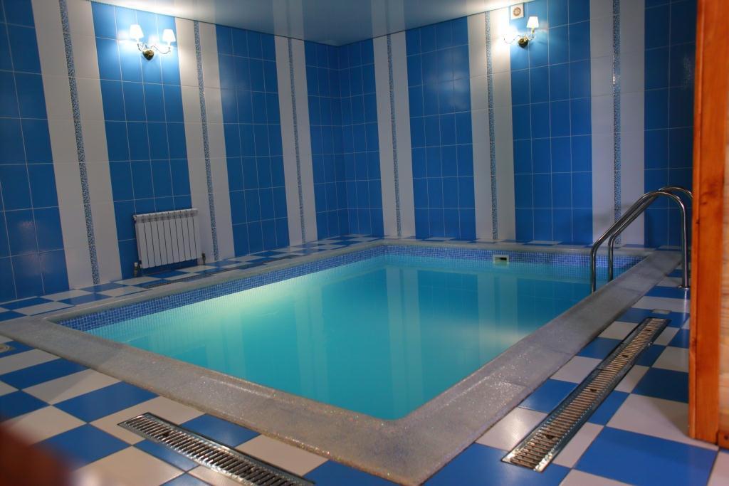 Новый бассейн в спа комплексе Роял Плюс Мелитополь