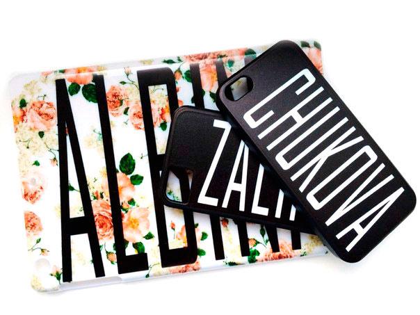 Чехлы на смартфоны с индивидуальным дизайном