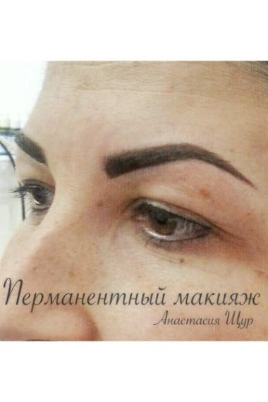 Татуаж (перманентный макияж) бровей