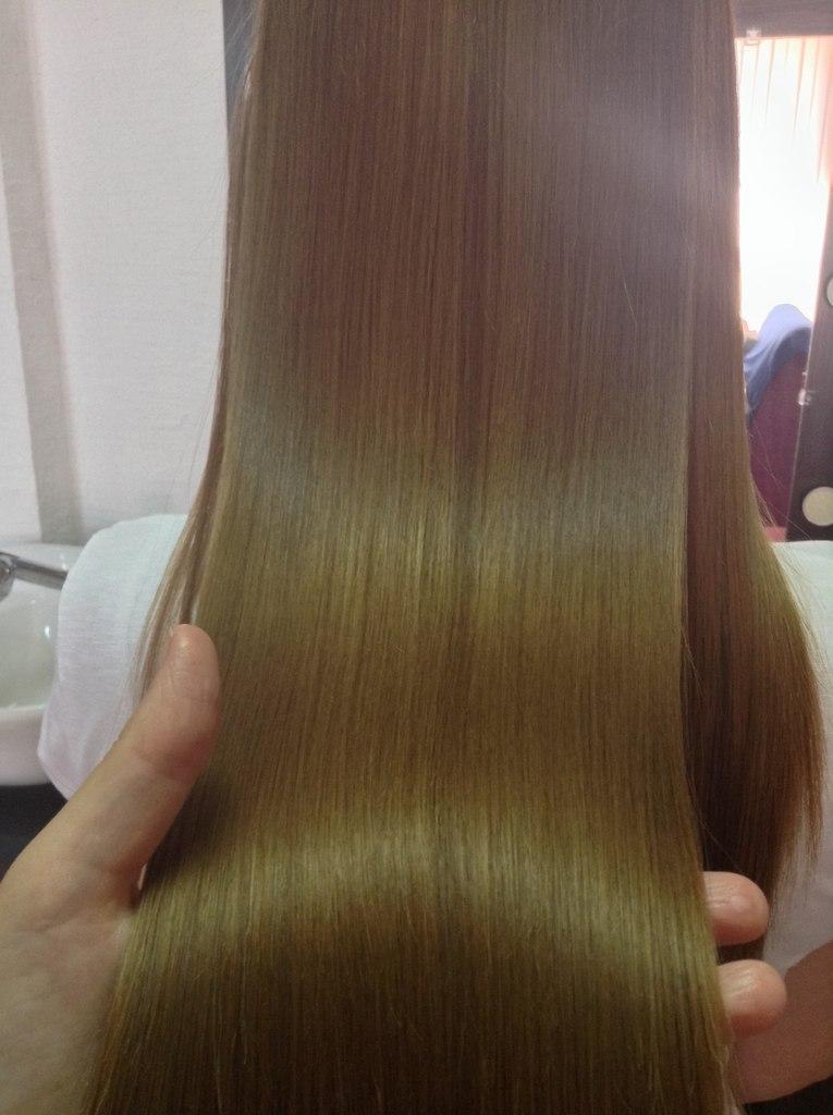 кератиновое лечение волос в Мелитополе