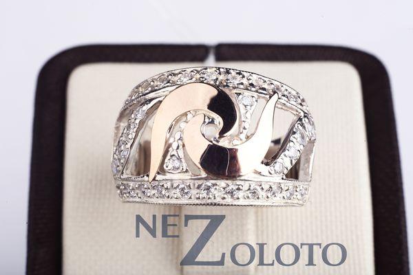 серебрные кольца для девушек