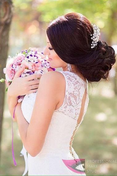 Мартиросян_сделать свадебную прическу