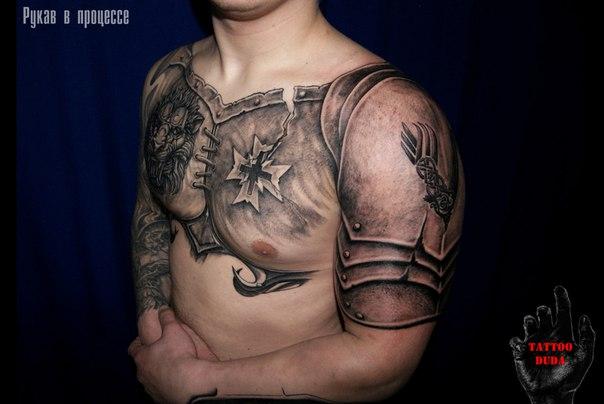 Tattoo_Duda_рукав в процессе