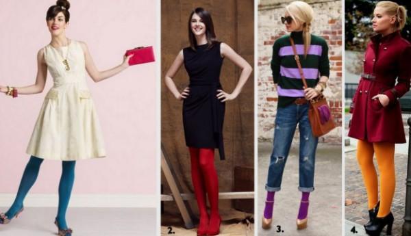 С чем носить цветные платья