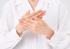на языке жестов