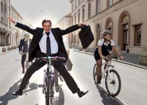 запорожье велосипедом на работу
