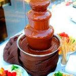 Шоколадный фонтан в г. Мелитополь
