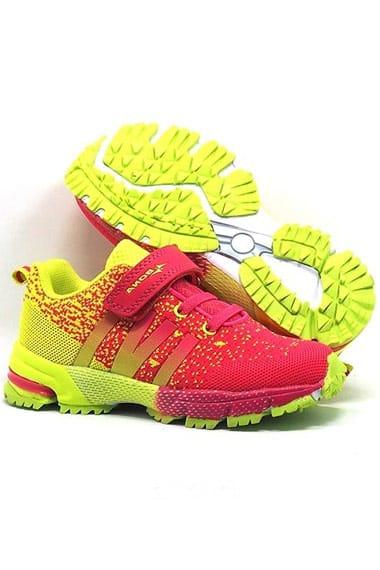 Кроссовки для девочки на липучке Bona
