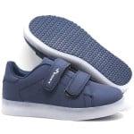 Кроссовки для мальчика с USB шнуром Мигалки Арт. 145-Н