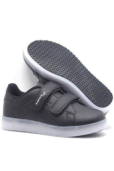 Кроссовки для мальчика с USB шнуром Мигалки Bona