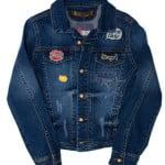 Пиджак для девочки Значки A-Yugi