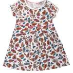 Платье для девочки Листики Wanex