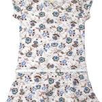 Платье для девочки с поясом Цветы Wanex