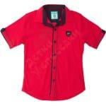 Рубашка для мальчика Металлическая эмблема Wanhill (2)