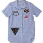 Рубашка короткий рукав для девочки Гитара Kas Kids
