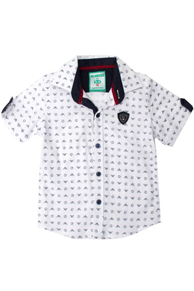 Рубашка короткий рукав для мальчика Armani Wanhill