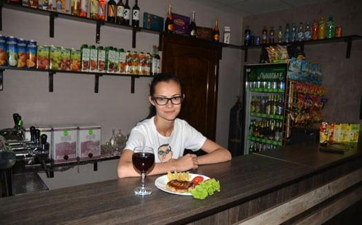 Кафе Kraps в Мелитополе (2)