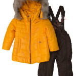 Костюм куртка и полукомбинезон зимний для девочки Goldy Style Арт. 26а-ЗД-15