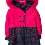 Пальто зимнее для девочки Пуговицы в 2 ряда Арт. 8180