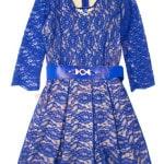 Платье нарядное для девочки Брошь с камнями Kas Kids Арт. 7336
