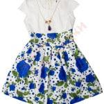 Платье нарядное для девочки Розы Арт. 7377 (1)