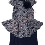 Платье нарядное для девочки Волан Polin Арт. 7241