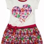 Сарафан для девочки Сердце из цветов Pink Арт. 7000