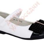 Туфли для девочки Бант с камнями Шалунишка Арт. 5587