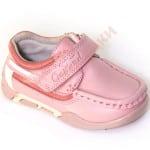 Туфли для девочки на липучке Шов B&G Арт. 011