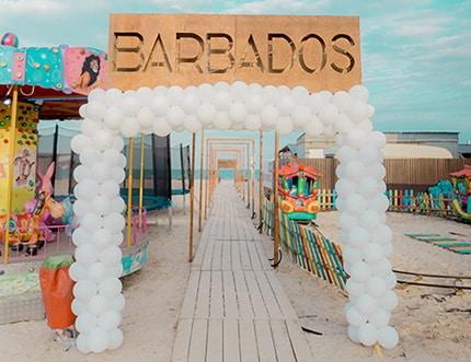Открытие пляжного клуба Барбадос в Кирилловке