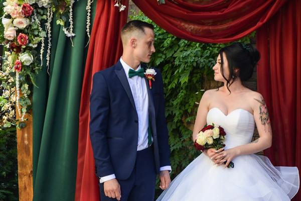 выездная церемония бракосочетания от Вера Декор