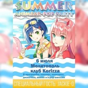 summer anime and k-pop melitopol