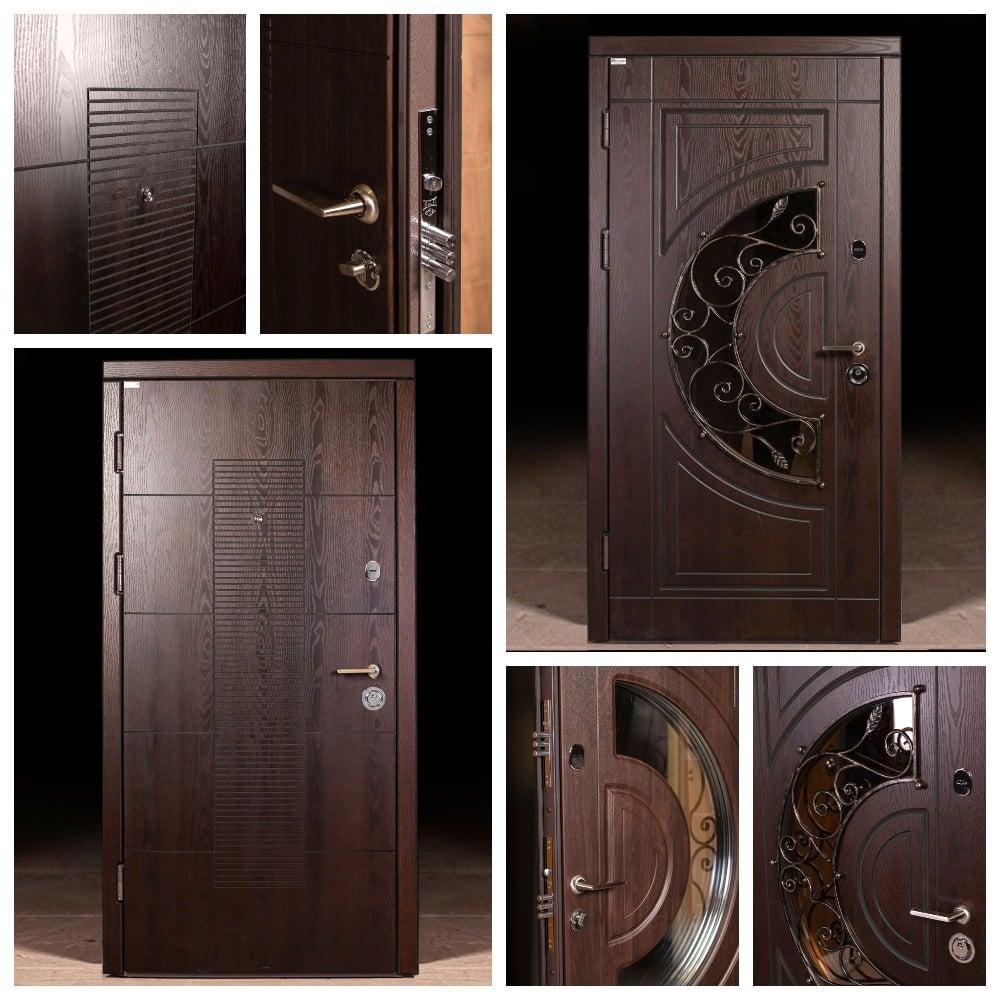 Двері з полімерними панелями