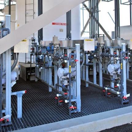 Промышленная очистка воды на водоканалах