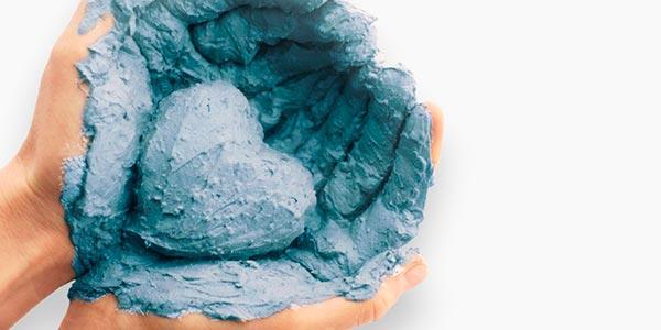 применение голубой глины