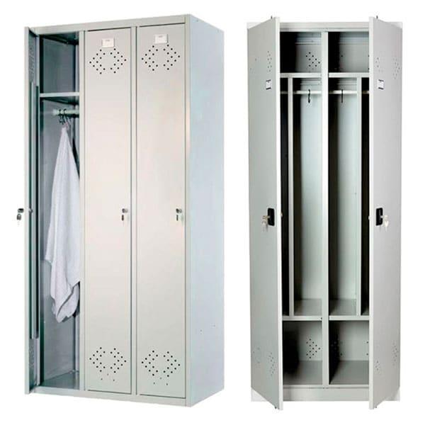 различные металлические шкафчики ля раздевалок