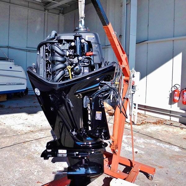 Обкатка лодочного мотора – как сделать это корректно?