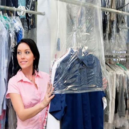 """Новая услуга - """"химчистка одежды"""""""