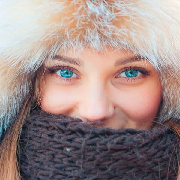 Здорові очі та гострий зір взимку