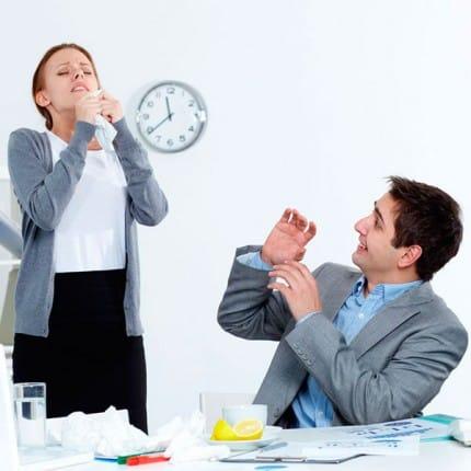 Хворіти в офісі чи вдома?