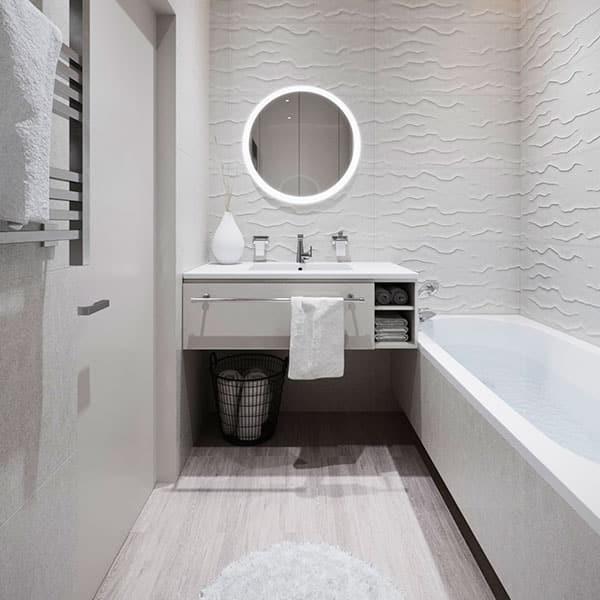 В каком стиле оформить ванную комнату в 2020?