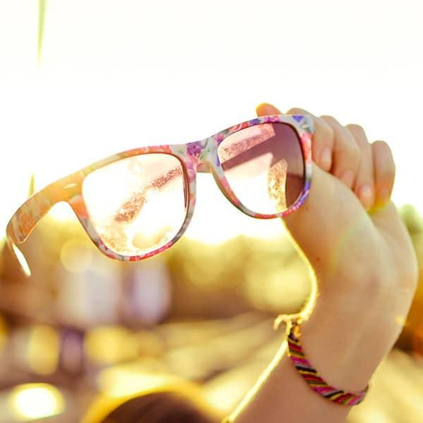 Захист очей від сонця навесні