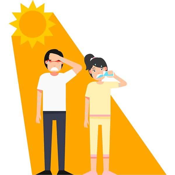 Удар теплом: як рятуватися