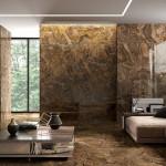 Мозаика в гостиной